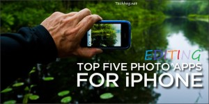 top 5 photo editing apps for iphone