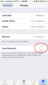 How to disable or remove WhatsApp blue ticks AKA read receipt