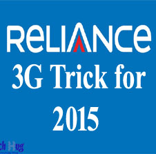 Reliance 3g trick1