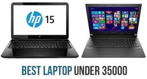 best 5 laptops under 35000