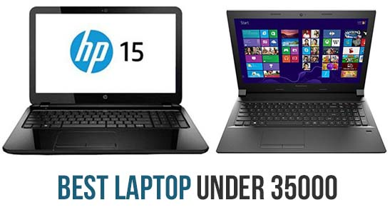 best 5 laptops under 35000