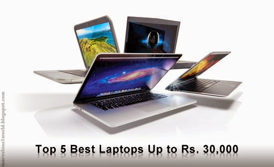 BEST 5 LAPTOPS UNDER 30000