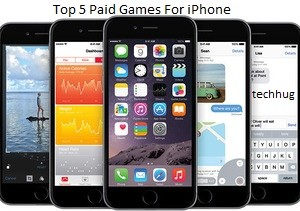Top 5 Paid iPhone Games In 2015