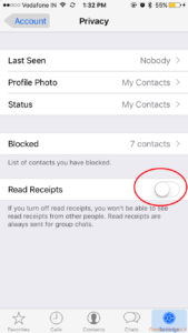 How to disable or remove WhatsApp blue ticks AKA read receipt